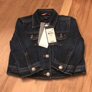 Tommy Hilfiger baby Girl Jean Jacket NWT